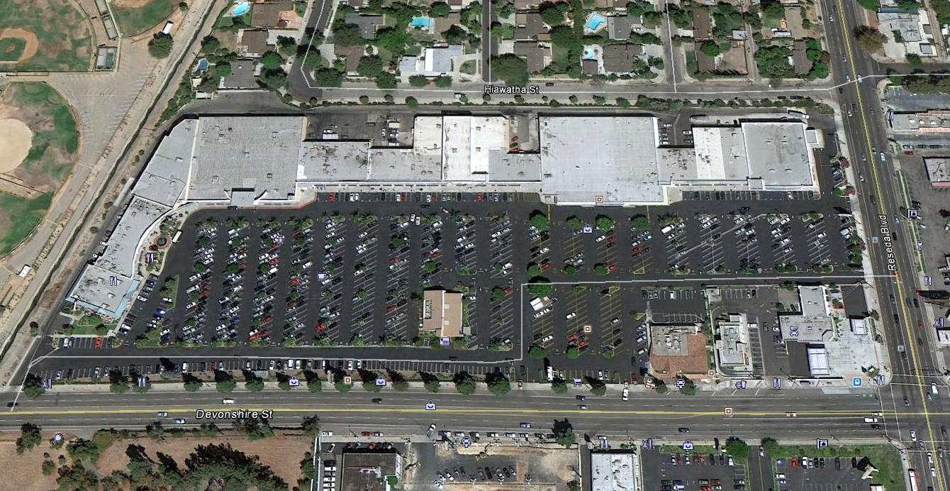 Devonshire Reseda Shopping Center, Northridge